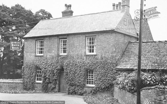 Photo of Woodhouse Eaves, Ye Olde Bulls Head c.1955