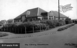 The Library c.1960, Woodhouse