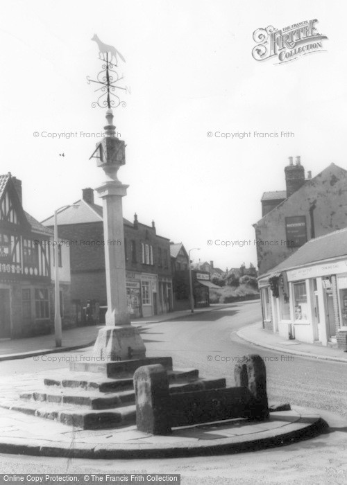 Photo of Woodhouse, The Stocks And Cross c.1960