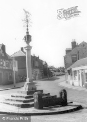 Woodhouse, The Stocks And Cross c.1960