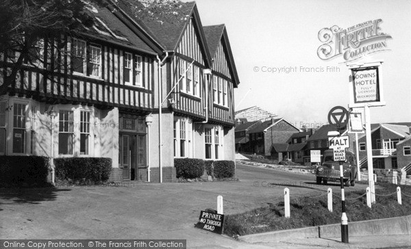 Photo of Woodingdean, Downs Hotel 1960