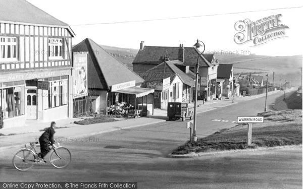 Photo of Woodingdean, Falmer Road c.1950