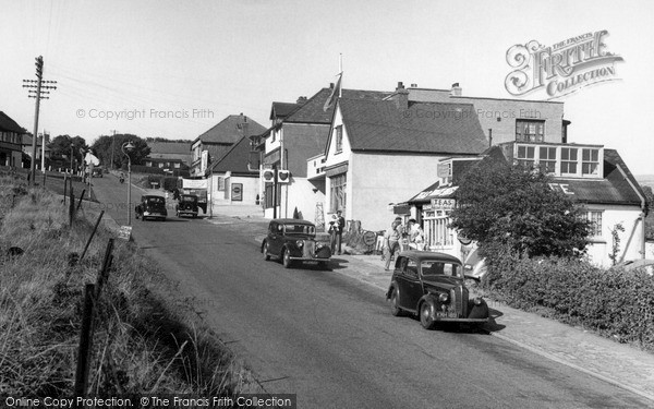 Photo of Woodingdean, Falmer Road c.1955