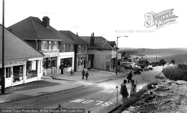 Photo of Woodingdean, Falmer Road c.1960