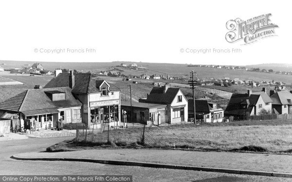 Photo of Woodingdean, General View c.1950