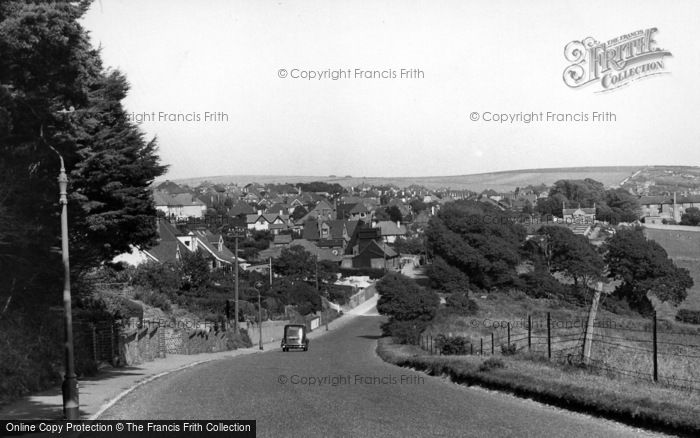 Photo of Woodingdean, General View c.1955