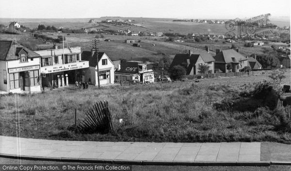 Photo of Woodingdean, The Downs c.1955