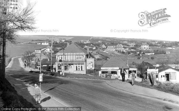 Photo of Woodingdean, Warren Road c.1950