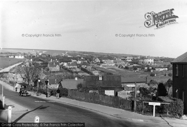 Photo of Woodingdean, Warren Road c.1950