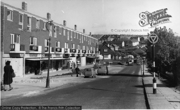 Photo of Woodingdean, Warren Way c.1960