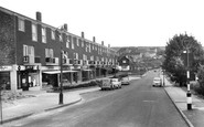Woodingdean, Warren Way c1960