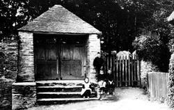 Church Porch 1890, Woodleigh
