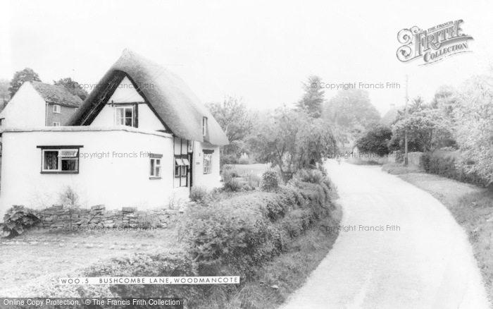 Photo of Woodmancote, Bushcombe Lane c.1960