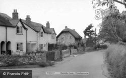 Gambles Lane c.1960, Woodmancote