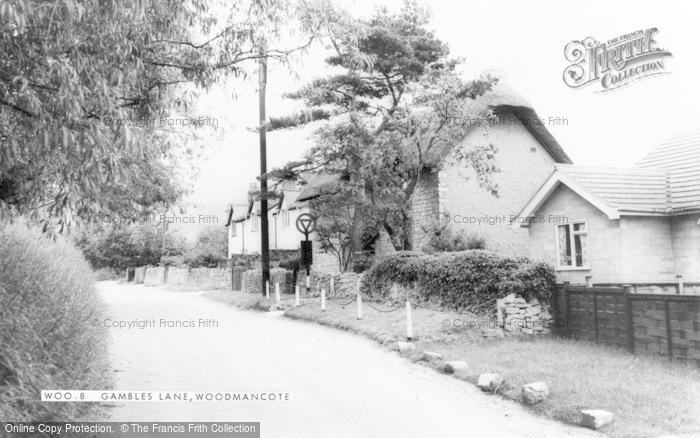 Photo of Woodmancote, Gambles Lane c.1960