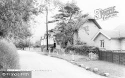 Woodmancote, Gambles Lane c.1960