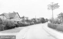 Woodmancote, Station Road c.1960
