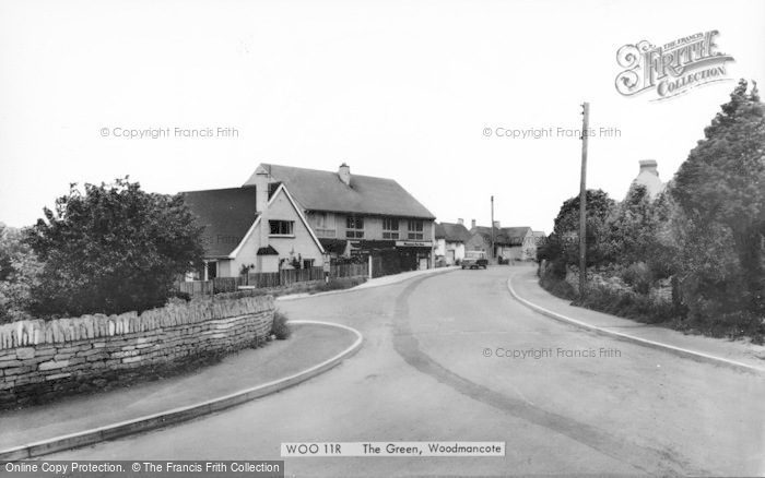 Photo of Woodmancote, The Green c.1960