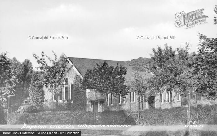 Photo of Woodmansterne, Baptist Church c.1955