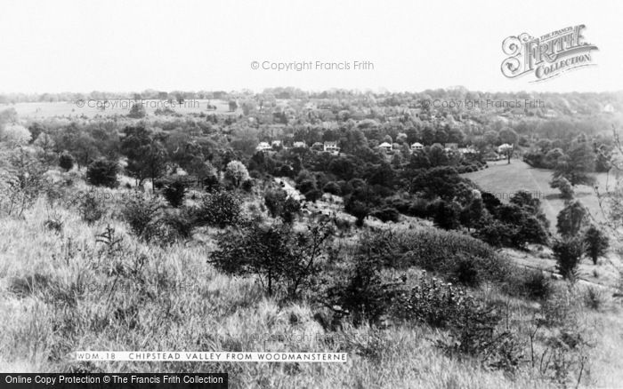 Photo of Woodmansterne, Chipstead Valley c.1955