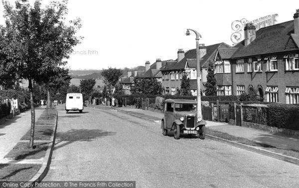 Photo of Woodmansterne, Manor Way c1955