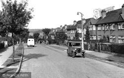 Woodmansterne, Manor Way c.1955