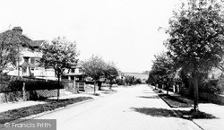 Woodmansterne, Pine Walk c.1955
