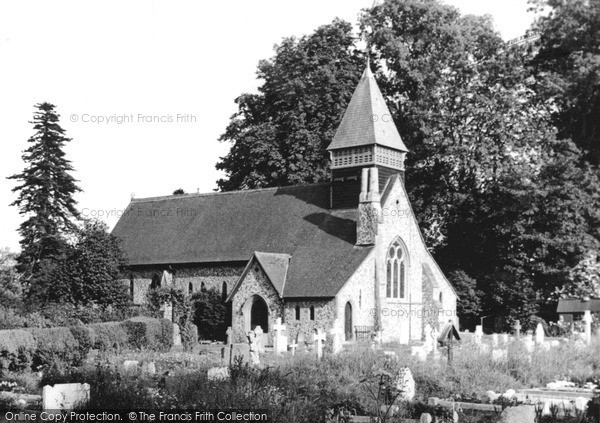 Photo of Woodmansterne, St Peter's Church c.1955