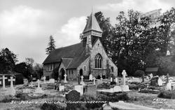 St Peter's Church c.1955, Woodmansterne
