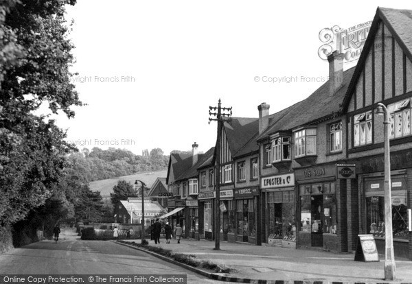 Photo of Woodmansterne, The Village c.1955