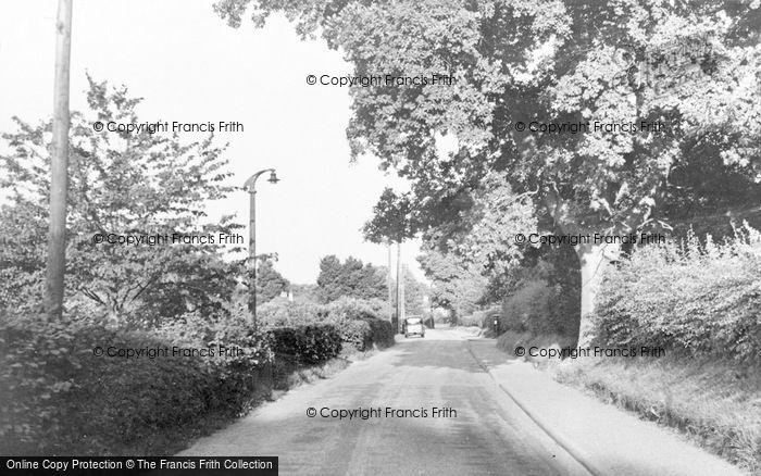 Photo of Woodmansterne, Woodmansterne Lane c.1955