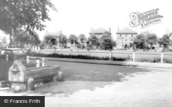 Woodside Green, Horse Trough And Green c.1965