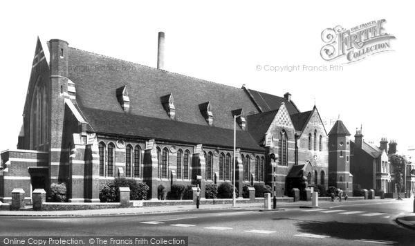 Photo of Woodside Green, St Luke's Church c1965