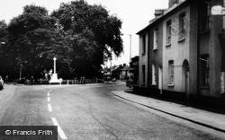 Woodside Green, The Memorial c.1965
