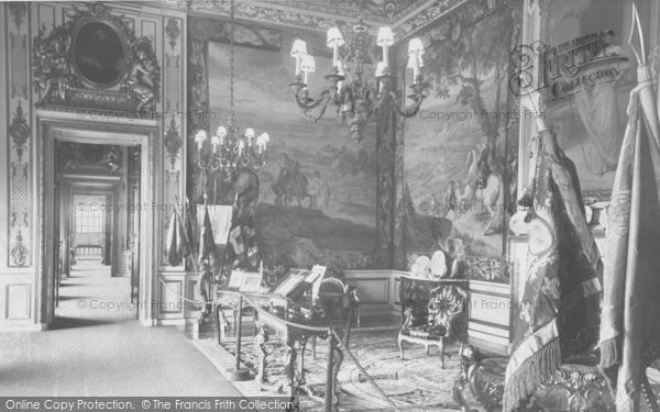 Photo of Woodstock, 1st State Room, Blenheim Palace c.1960
