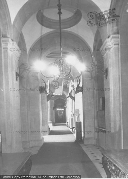 Photo of Woodstock, A Corridor, Blenheim Palace c.1960