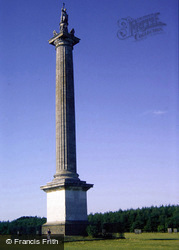 Woodstock, Blenheim Palace, Column Of Victory 1989