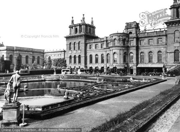 Photo of Woodstock, Blenheim Palace, South Front c.1960