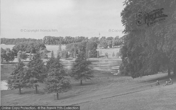 Photo of Woodstock, Blenheim, The Park c.1955