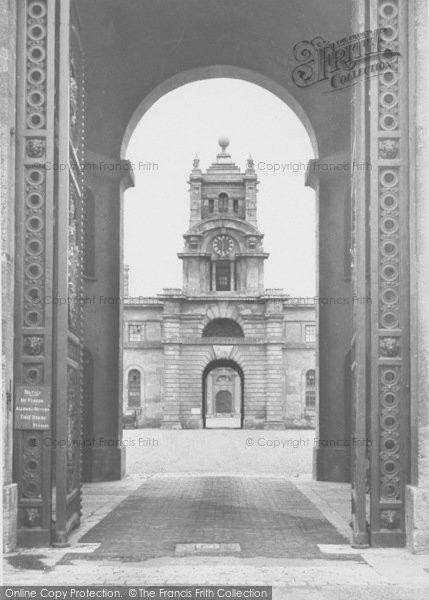 Photo of Woodstock, East Gate, Blenheim Palace c.1955