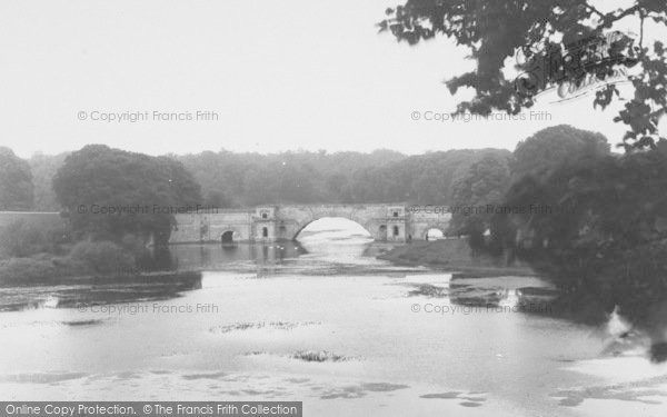 Photo of Woodstock, Grand Bridge, Blenheim Palace c.1960