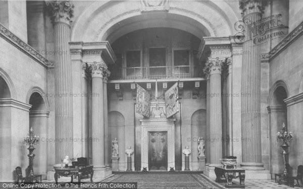 Photo of Woodstock, Grand Entrance Hall, Blenheim Palace c.1960
