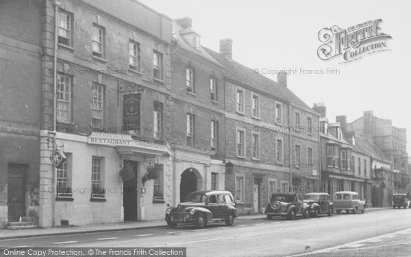 Photo of Woodstock, Marlborough Arms Hotel c.1960