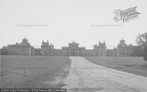 Photo of Woodstock, North Front, Blenheim Palace c.1955