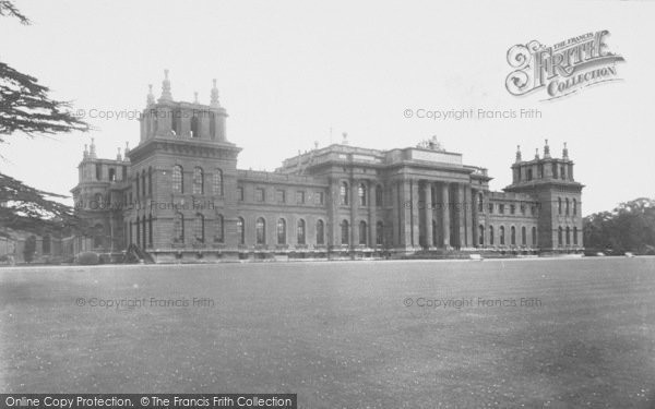 Photo of Woodstock, South Front, Blenheim Palace c.1955