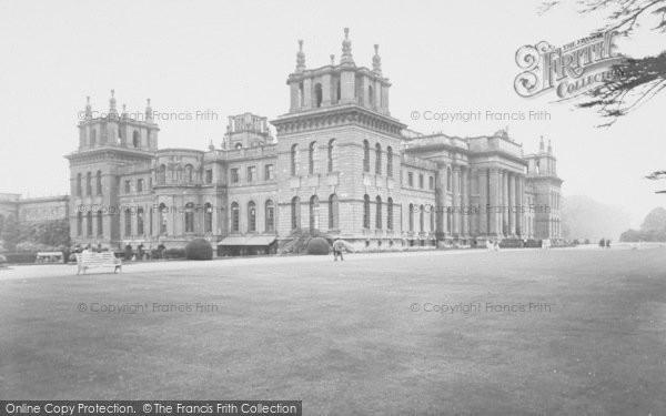 Photo of Woodstock, South Front, Blenheim Palace c.1960