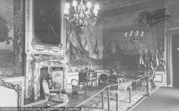 Photo of Woodstock, The Blenheim Tapestry State Room, Blenheim Palace c.1960