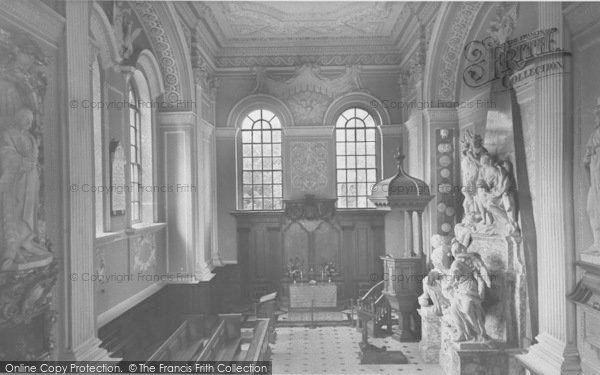 Photo of Woodstock, The Chapel, Blenheim Palace c.1960
