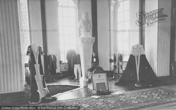 Photo of Woodstock, The Coronation Robes, Blenheim Palace c.1960