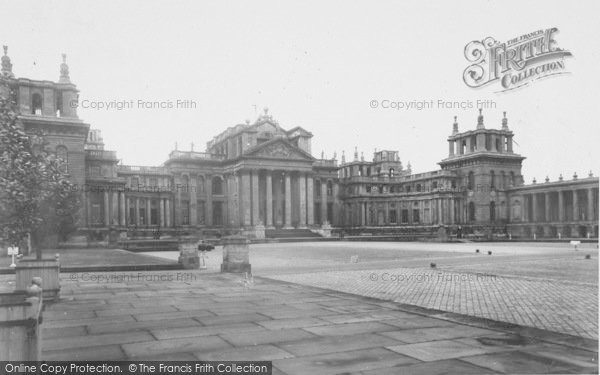 Photo of Woodstock, The Forecourt And Grand Entrance, Blenheim Palace c.1960